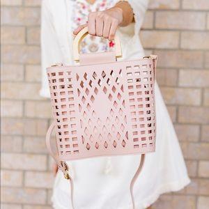 Joy Susan Madison Crossbody Bag in Blush